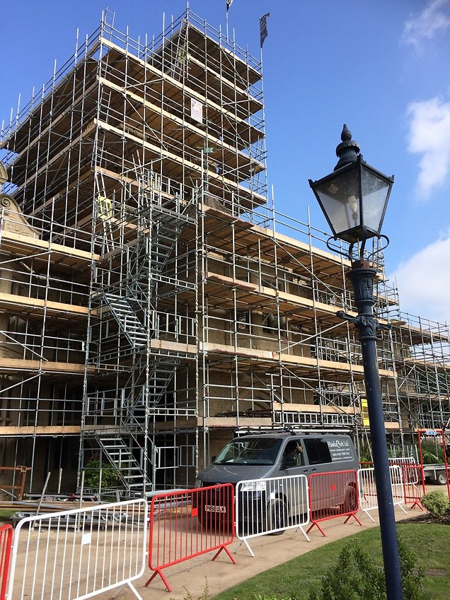 BUILDING WORK. Commercial Conservation & Restoration Projects 1