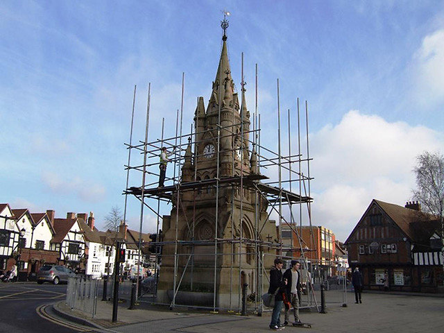 BUILDING WORK. Church and Monumental work